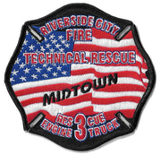 Riverside City, CA Technical Operations Fire Patch