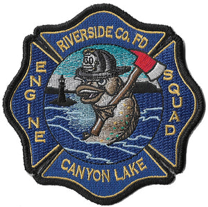 Riverside Co., Ca. Station 60 Canyon Lake Patch