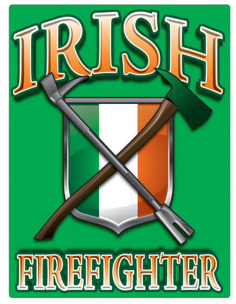 Irish Firefighter Vinyl Decal Eagle Emblems Amp Graphics