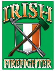 Irish Firefighter Vinyl Decal