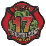 San Diego Station 17 Patch