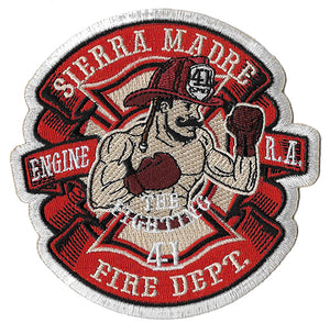 Sierra Madre, CA Station 41 Fightning 41st Fire Patch