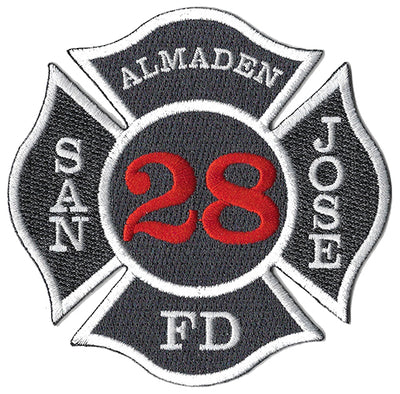 San Jose Station 28 Almaden Fire Patch