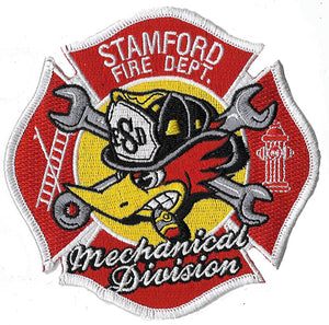 Stamford, CT. Mechanical Division Fire Patch