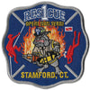 Stamford, CT Rescue 1 Operi Non Verbi Fire Patch