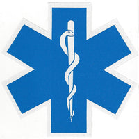 "Star of Life 4"" Decal"