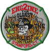 "Stamford, CT Engine 2 ""The Oldest"" Fire Patch"