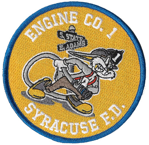 Syracuse Engine 1 Bugs Bunny Fire Patch