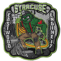 "Syracuse Engine 17 ""Oscar the Grouch"" New Fire Patch"
