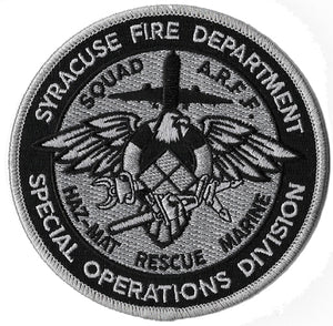 Syracuse, NY Special Operations Haz Mat Rescue Marine Fire Patch