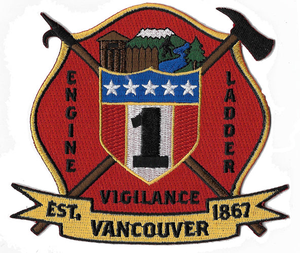 Vancouver, WA  Station1 Fire Patch