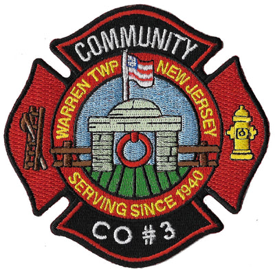 Warren Township, NJ Fire Company 3 Patch