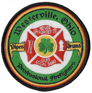 Westerville, OH Pipes & Drums Fire Patch