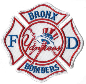 New York City Bronx Bombers Yankee Fire Patch