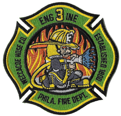 Philadelphia Engine 3 Leprechaun Irish Fire Patch