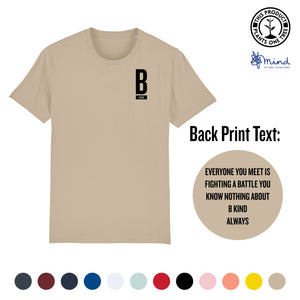 Unisex - B Kind Always - Back Print Tee