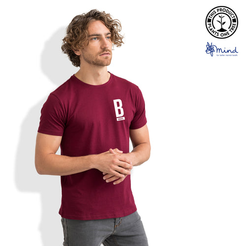 Brave Minimal T-Shirt - Mens Fitted Tee