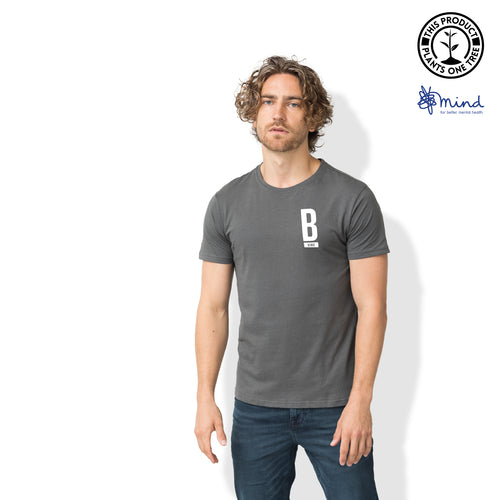 Kind Minimal T-Shirt - Mens Fitted Tee