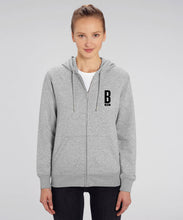 Load image into Gallery viewer, Connector Zip up Hoodie - Unisex B Brave