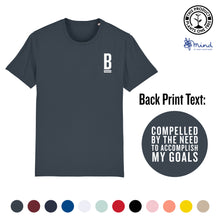 Load image into Gallery viewer, Unisex - Goal Focused - Back Print Tee