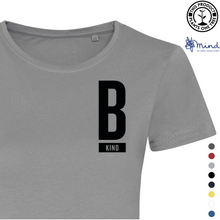 Load image into Gallery viewer, Kind Minimal Tee - Ladies Fitted Tee