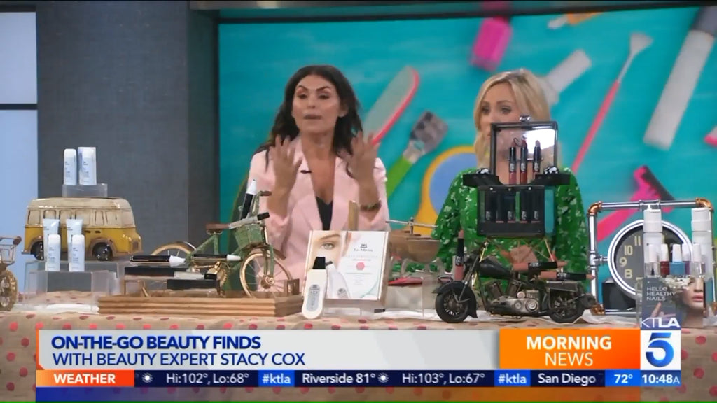 KTLA: Stacy Cox On-the-go Beauty Finds