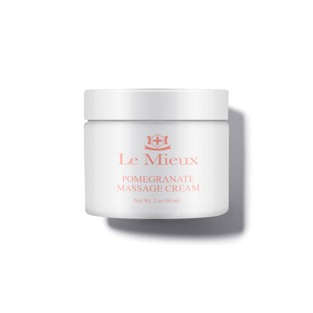 Le Mieux Pomegranate Massage Cream - Pampered luxury for stressed skin