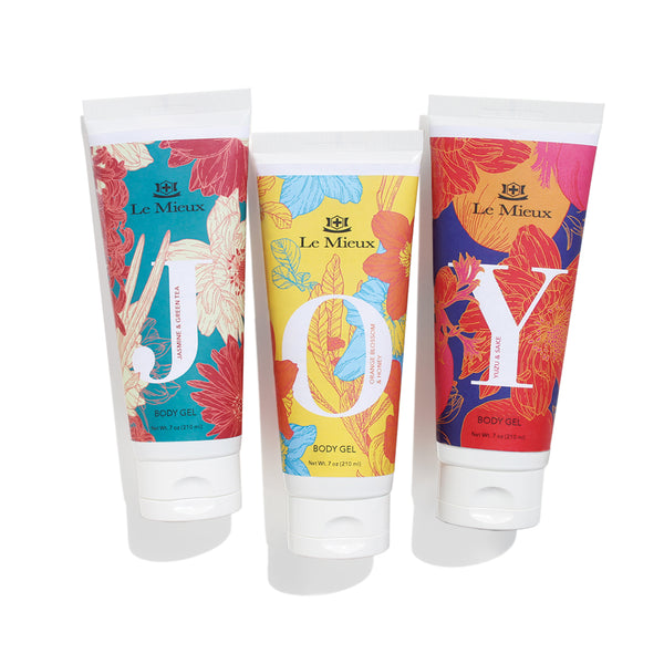 FIND YOUR JOY BODY GEL TRIO