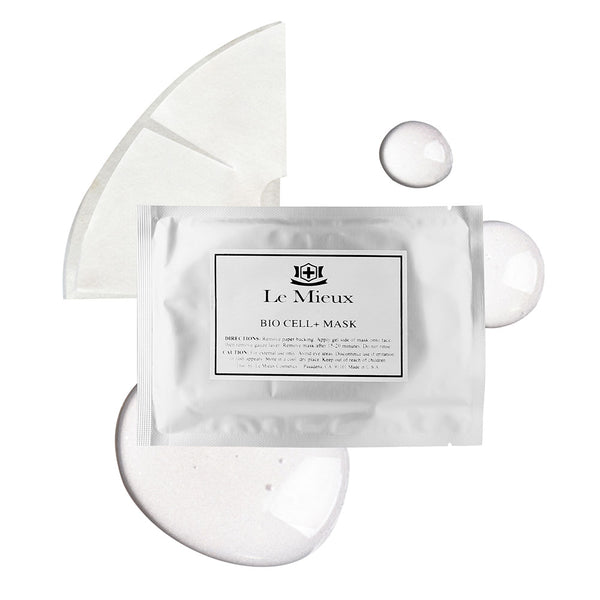 Le Mieux BIO CELL+ Mask - The original OMG mask - Texture