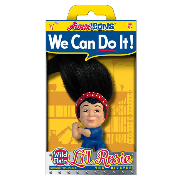 NEW! Li'l Rosie the Riveter