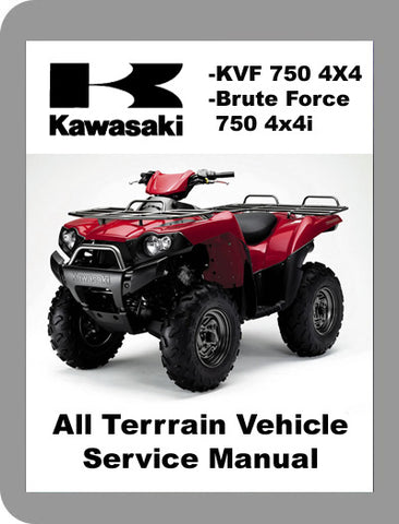 2005 to 2006 Kawasaki KVF 750 Full Service Manual