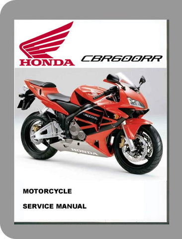 2003 to 2005 Honda CBR600RR Full Service Manual
