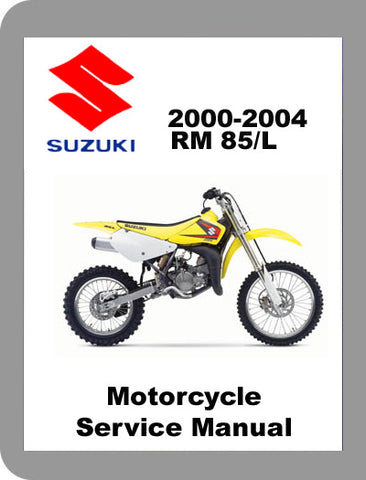 2000 to 2006 Suzuki RM 85 Full Service Manual