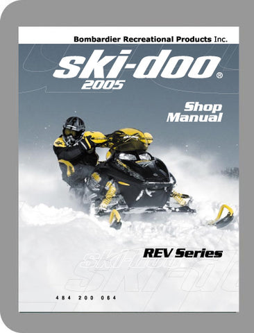 2005 Ski-Doo All 2005 Full Service Manual