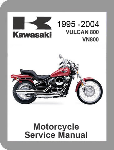 1995 to 2004 Kawasaki Vulcan 800 Full Service Manual