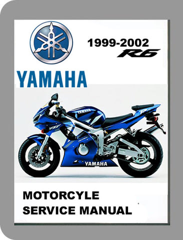 1999 to 2002 Yamaha YZF R6 Full Service Manual