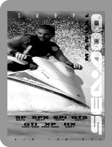 1996 Sea-Doo All 1996 Full Service Manual
