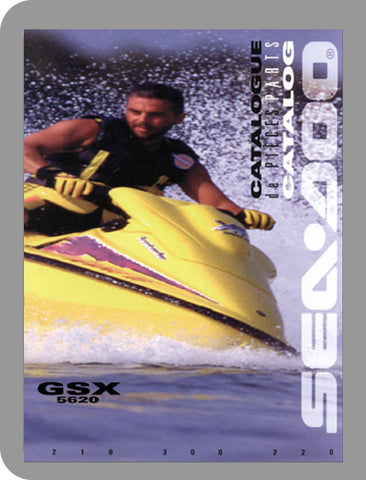 1996 Sea-Doo All 1996 Full Parts Catalog