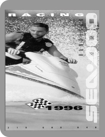 1996 Sea-Doo All 1996 Racing Handbook