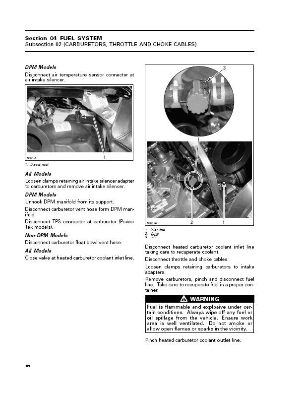 Full Service Manual for Ski-Doo Snowmobile 2006 RevInstant