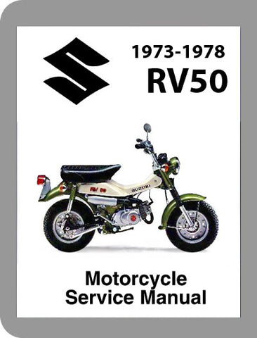 1973 to 1978 Suzuki RV50 Full Service Manual