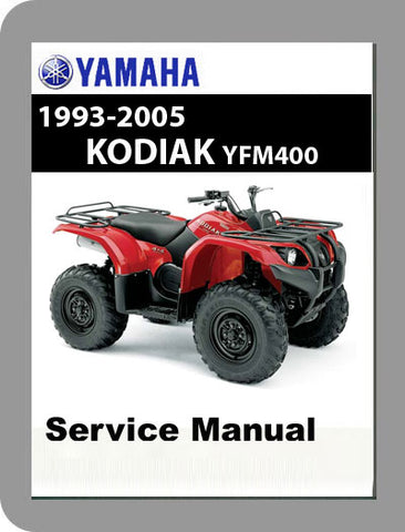 1993 to 2005 Yamaha YFM400 Kodiak Full Service Manual