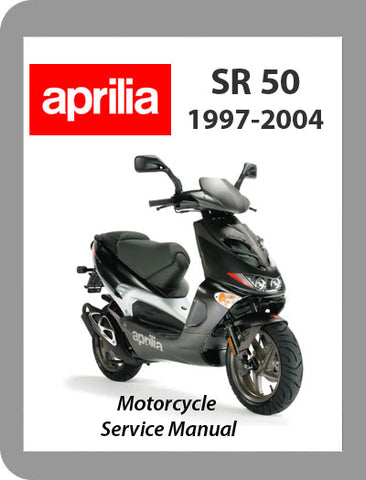 1997 to 2004 Aprilia SR50 Full Service Manual