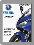 2000 to 2001 Yamaha YZF R1 Full Service Manual