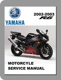 2002 to 2003 Yamaha YZF R1 Full Service Manual