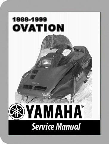 1989 to 1999 Yamaha Ovation Full Service Manual