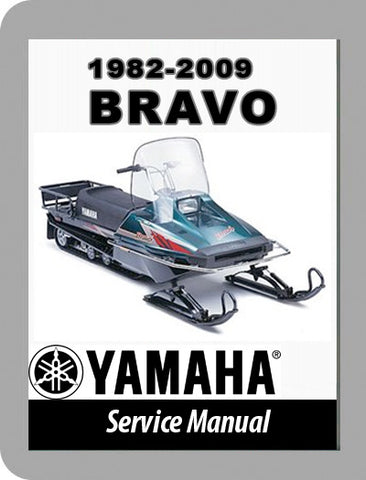 1982 to 2009 Yamaha Bravo 250 Full Service Manual