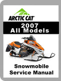 2007 Arctic Cat ALL 2007 Full Service Manual