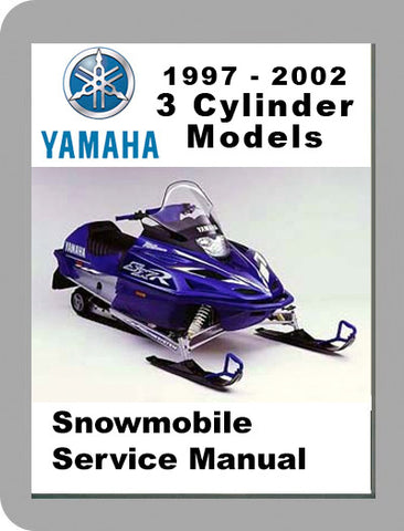 1997 to 2002 Yamaha 3 Cyclinder Full Service Manual