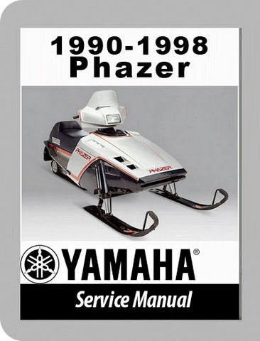 1990 to 1998 Yamaha Phazer Full Service Manual